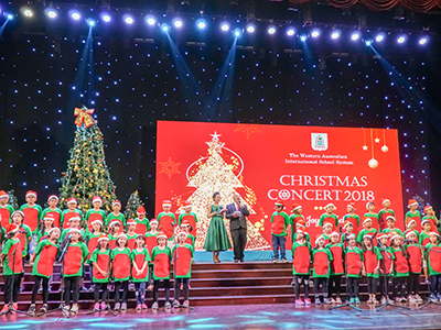"Christmas concert ""A Joyful Melody"" of 2018"