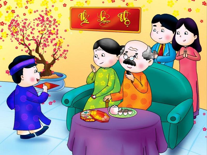 Bố mẹ nên dạy bé những truyền thống tốt đẹp của dân tộc