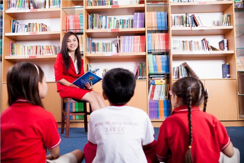 Cơ sở vật chất, trang thiết bị hiện đại tại Trường Tây Úc là điều kiện giúp các em học hành tốt hơn