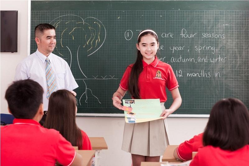 Cơ sở vật chất tốt, chương trình dạy học bằng tiếng Anh nhà trường chú trọng dạy kỹ năng sống là những lợi thế của trường quốc tế
