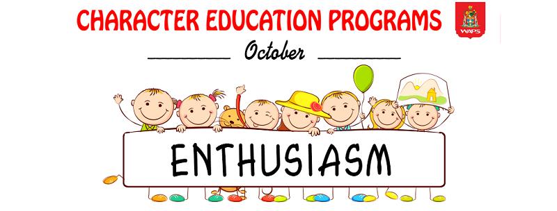 Enthusiasm month