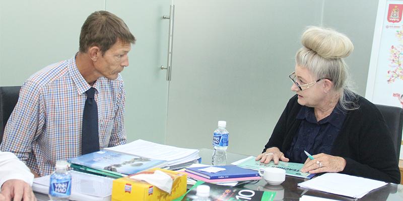 WASS đón Đoàn thành tra của Hội đồng học thuật bang Tây Úc