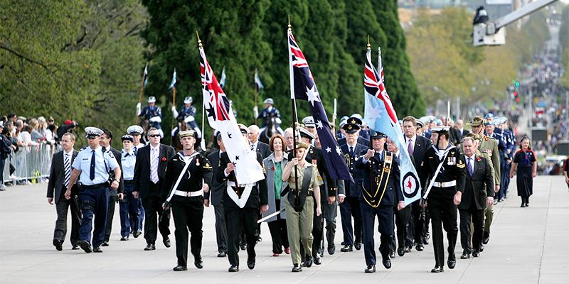 ANZAC parade 2016