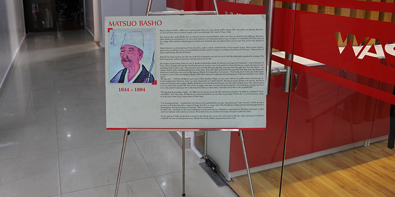 the life and contributions of matsuo basho The life and influence of matsuo bashō  according to traditional accounts of his life, bashō worked as part of the kitchen's staff before being introduced to .