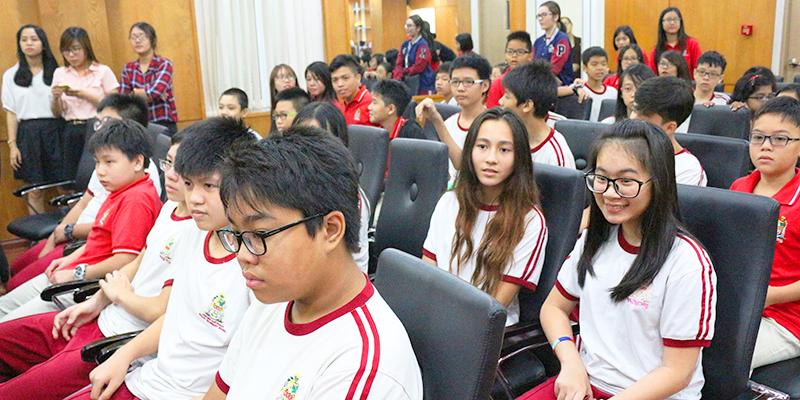 Buổi giao lưu giữa Hệ thống Trường Tây Úc và Trường Trung học Siglap Singapore