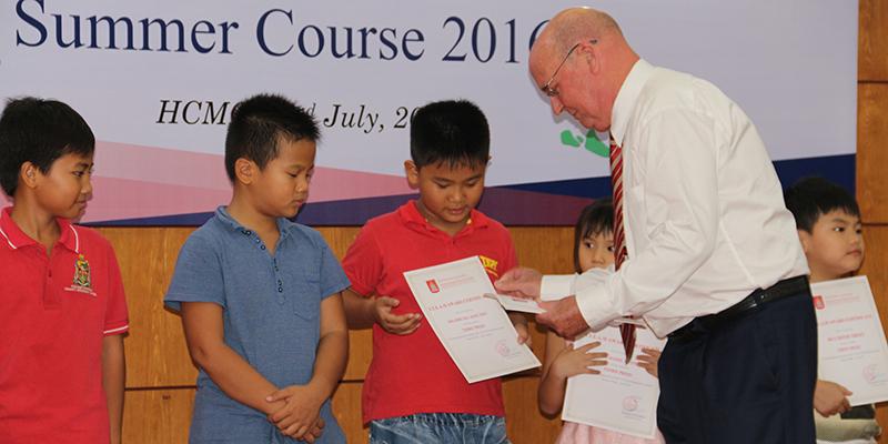 WASS bế giảng Học kỳ hè 2016