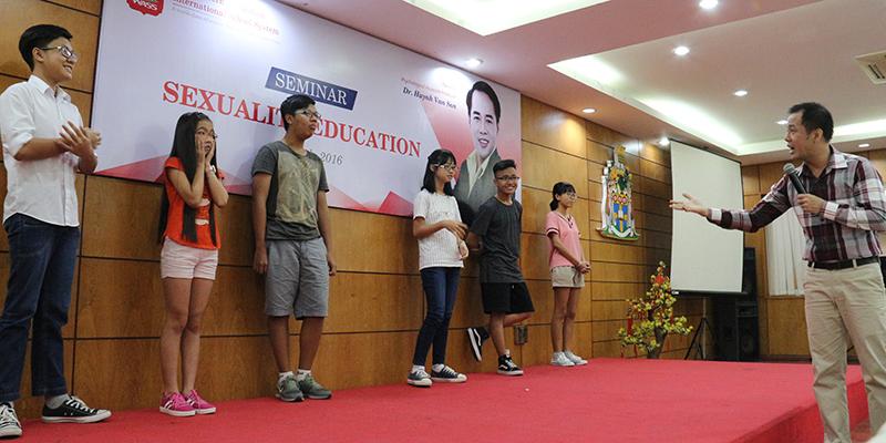 WASS tổ chức Hội thảo giáo dục giới tính học đường hè