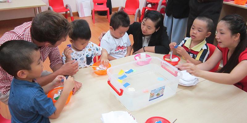WASS tập huấn giáo viên chuẩn bị năm học mới
