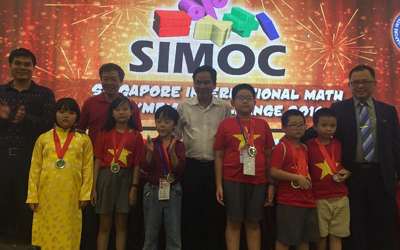 Học sinh WASS đạt Huy chương bạc Kỳ thi Toán Olympic Singapore 2016