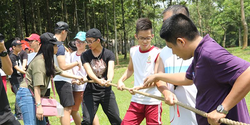 Field trip tháng 09 của Hệ thống Trường Quốc tế Tây Úc tại Thác Giang Điền, Đồng Nai