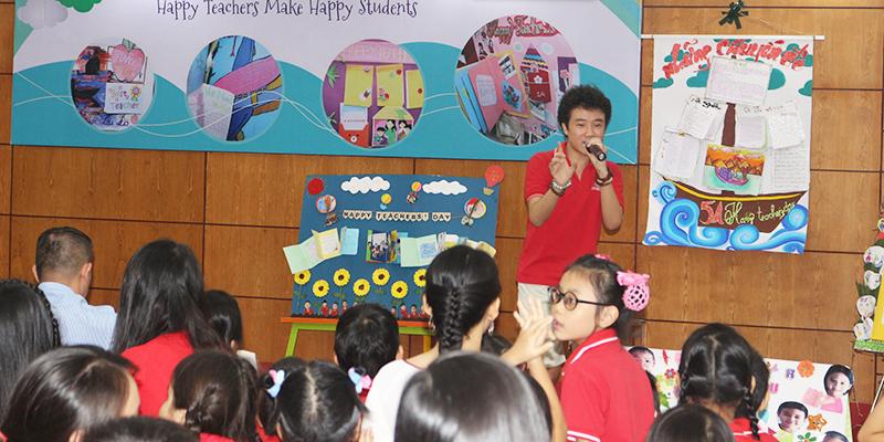 Cuoc thi bao tuong chao mung 2011 tai He thong Truong Quoc te Tay Uc 18