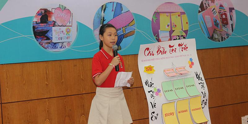 Cuoc thi bao tuong chao mung 2011 tai He thong Truong Quoc te Tay Uc 19