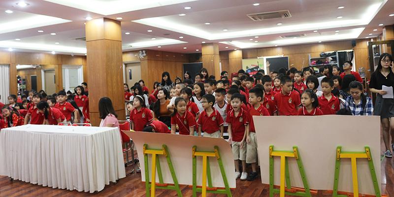 Cuoc thi bao tuong chao mung 2011 tai He thong Truong Quoc te Tay Uc 6