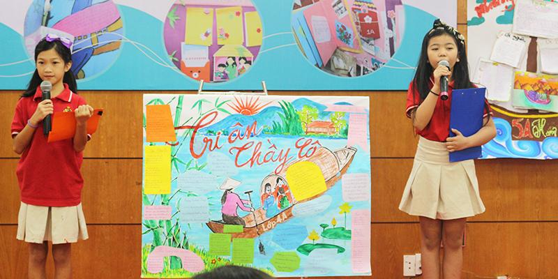 Cuoc thi bao tuong chao mung 2011 tai He thong Truong Quoc te Tay Uc 8