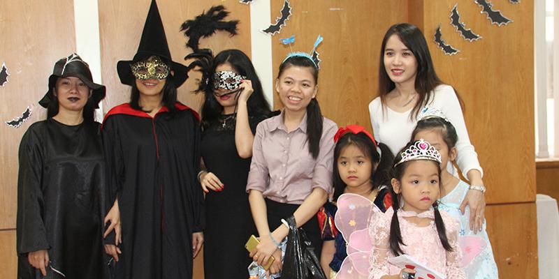 Halloween 2016 tai He Thong Truong Quoc te Tay Uc  12