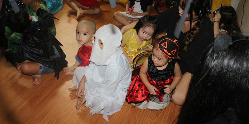 Halloween 2016 tai He Thong Truong Quoc te Tay Uc  8