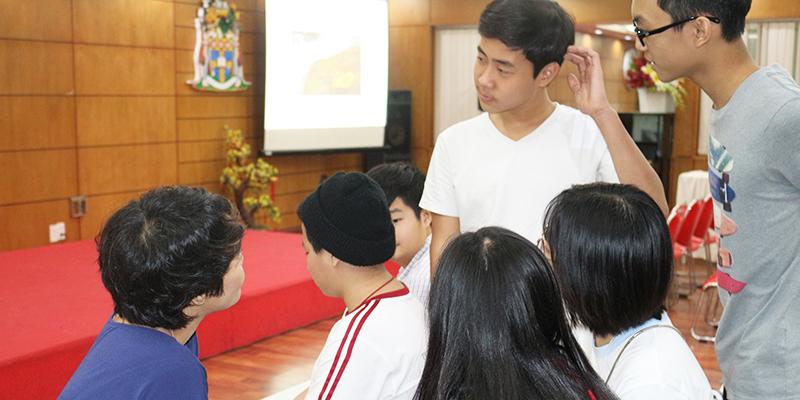 Hoi thao huong nghiep 2016 cho hoc sinh he Thong Truong Quoc te Tay Uc 10