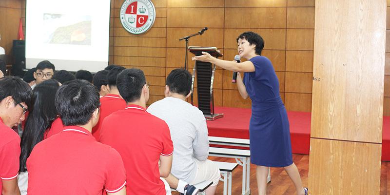 Hoi thao huong nghiep 2016 cho hoc sinh he Thong Truong Quoc te Tay Uc 8