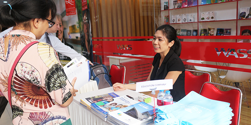 WASS Education Fair 2016 tai He thong Truong Quoc te Tay Uc