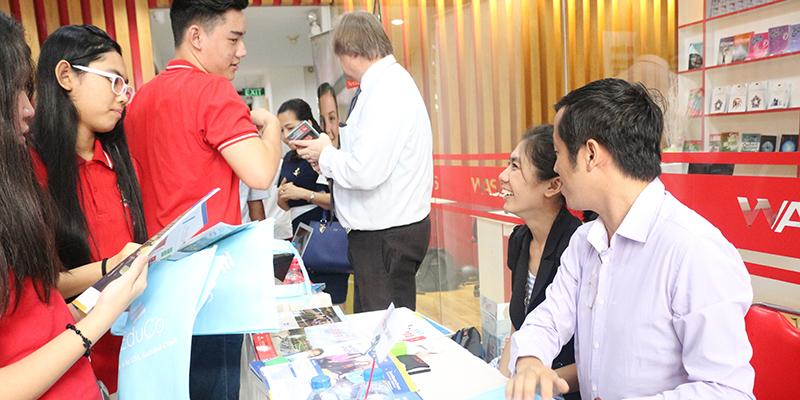 WASS Education Fair 2016 tai He thong Truong Quoc te Tay Uc 11