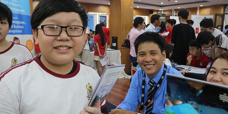 WASS Education Fair 2016 tai He thong Truong Quoc te Tay Uc 19