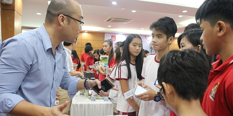 WASS Education Fair 2016 tai He thong Truong Quoc te Tay Uc 21