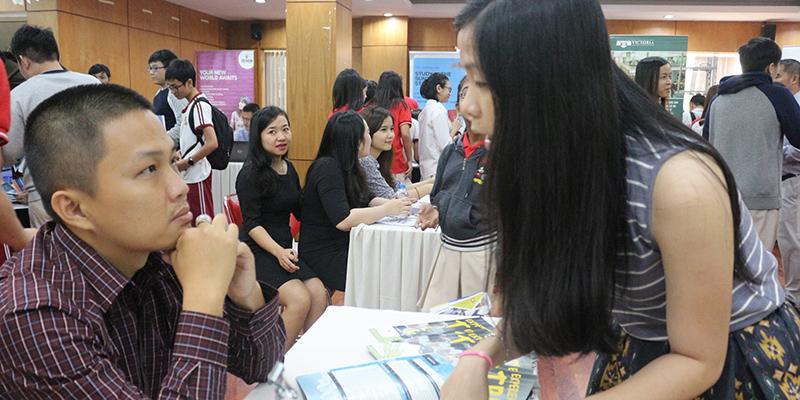 WASS Education Fair 2016 tai He thong Truong Quoc te Tay Uc 22