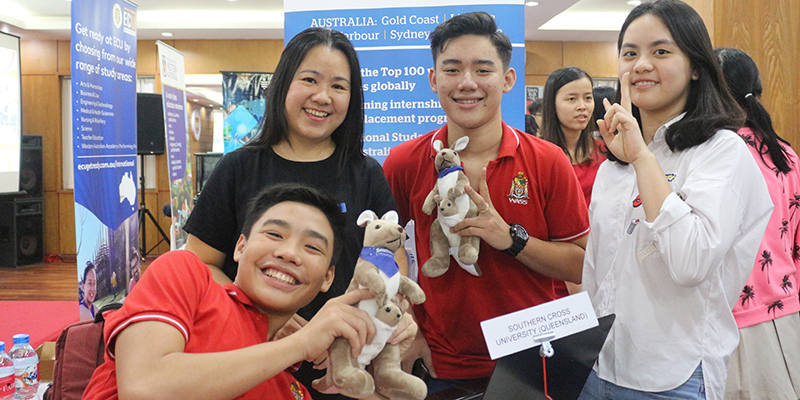 WASS Education Fair 2016 tai He thong Truong Quoc te Tay Uc 23