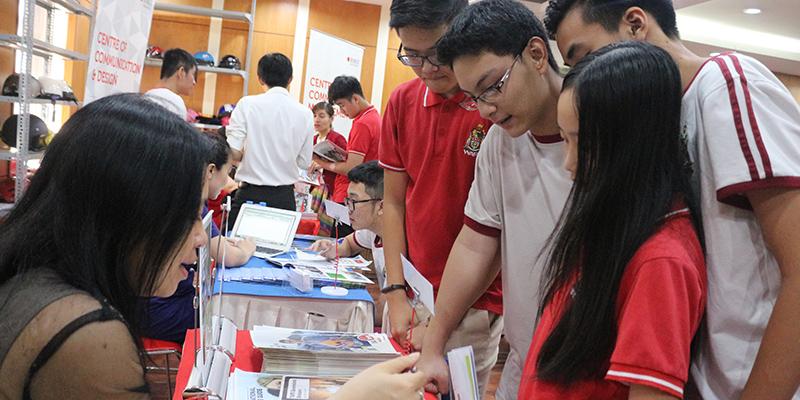 WASS Education Fair 2016 tai He thong Truong Quoc te Tay Uc 26