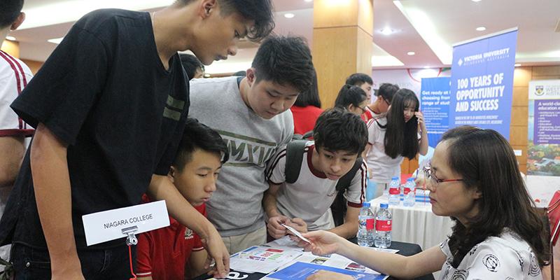 WASS Education Fair 2016 tai He thong Truong Quoc te Tay Uc 29