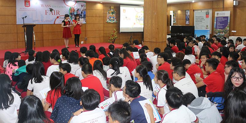 WASS Education Fair 2016 tai He thong Truong Quoc te Tay Uc 5