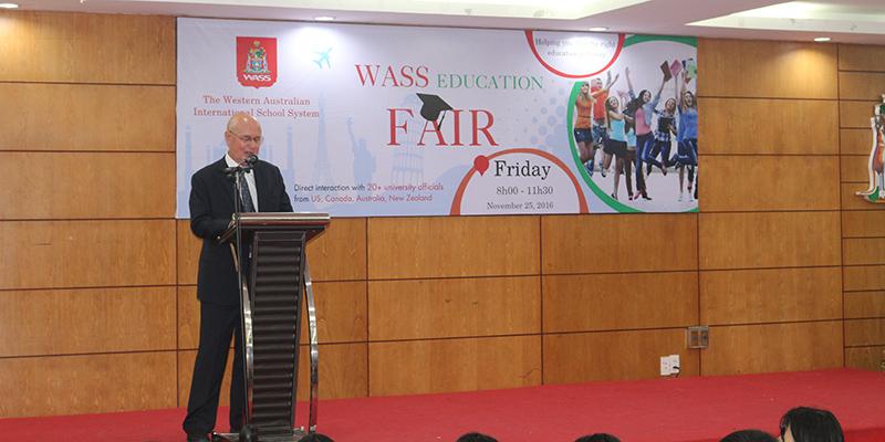 WASS Education Fair 2016 tai He thong Truong Quoc te Tay Uc 6