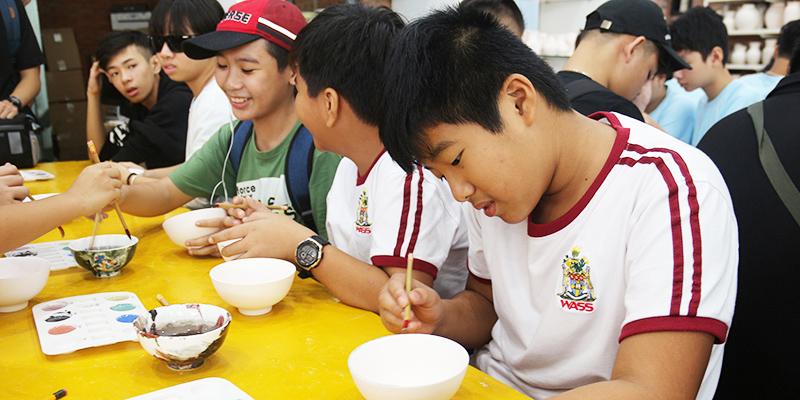 field trip trung hoc tai He Thong Truong Quoc te Tay Uc 11
