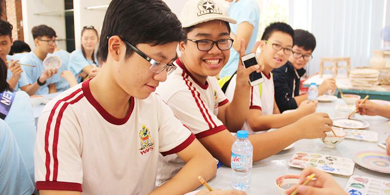 field trip trung hoc tai He Thong Truong Quoc te Tay Uc 15