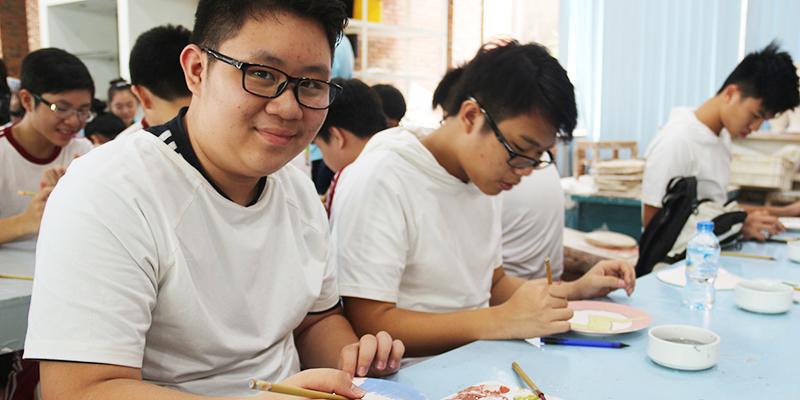 field trip trung hoc tai He Thong Truong Quoc te Tay Uc 16