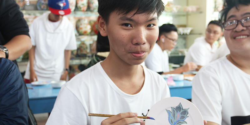 field trip trung hoc tai He Thong Truong Quoc te Tay Uc 17