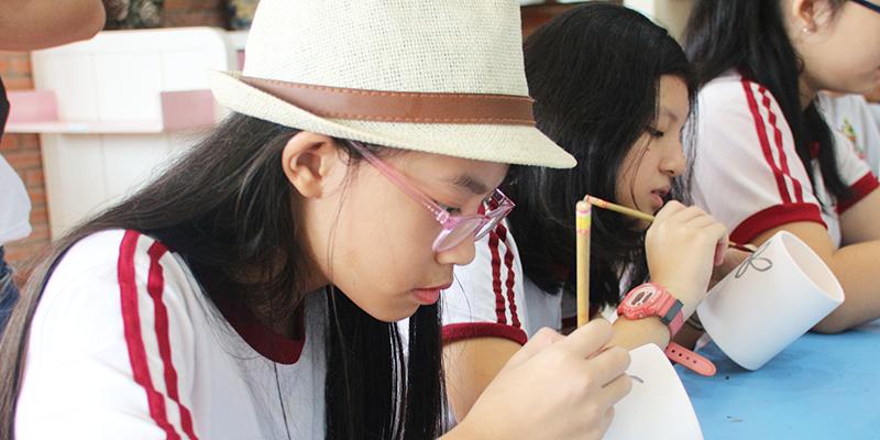 field trip trung hoc tai He Thong Truong Quoc te Tay Uc 3