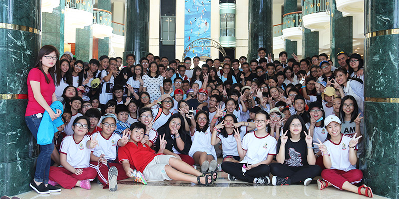 field trip trung hoc tai He Thong Truong Quoc te Tay Uc 33