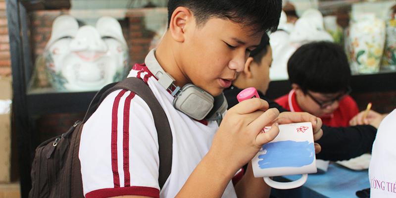 field trip trung hoc tai He Thong Truong Quoc te Tay Uc 4
