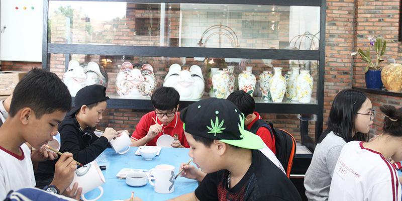 field trip trung hoc tai He Thong Truong Quoc te Tay Uc 5