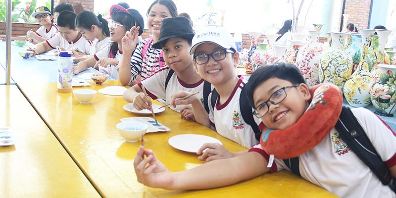 field trip trung hoc tai He Thong Truong Quoc te Tay Uc 8