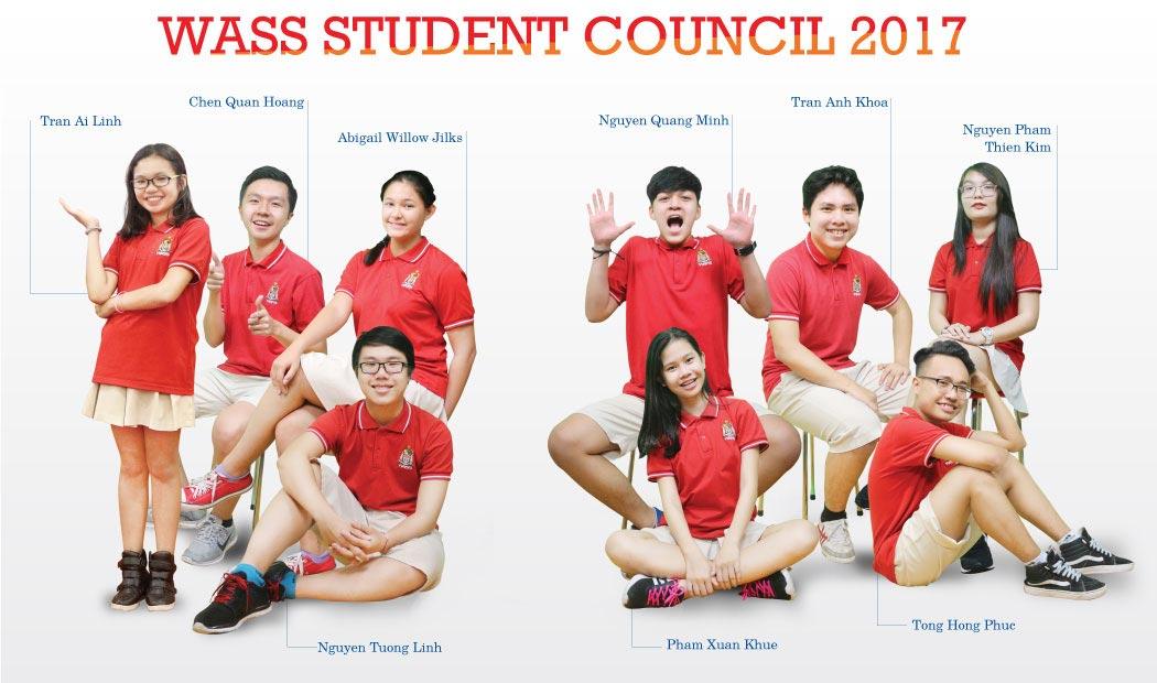 WASS Student Council 2016 - 2017