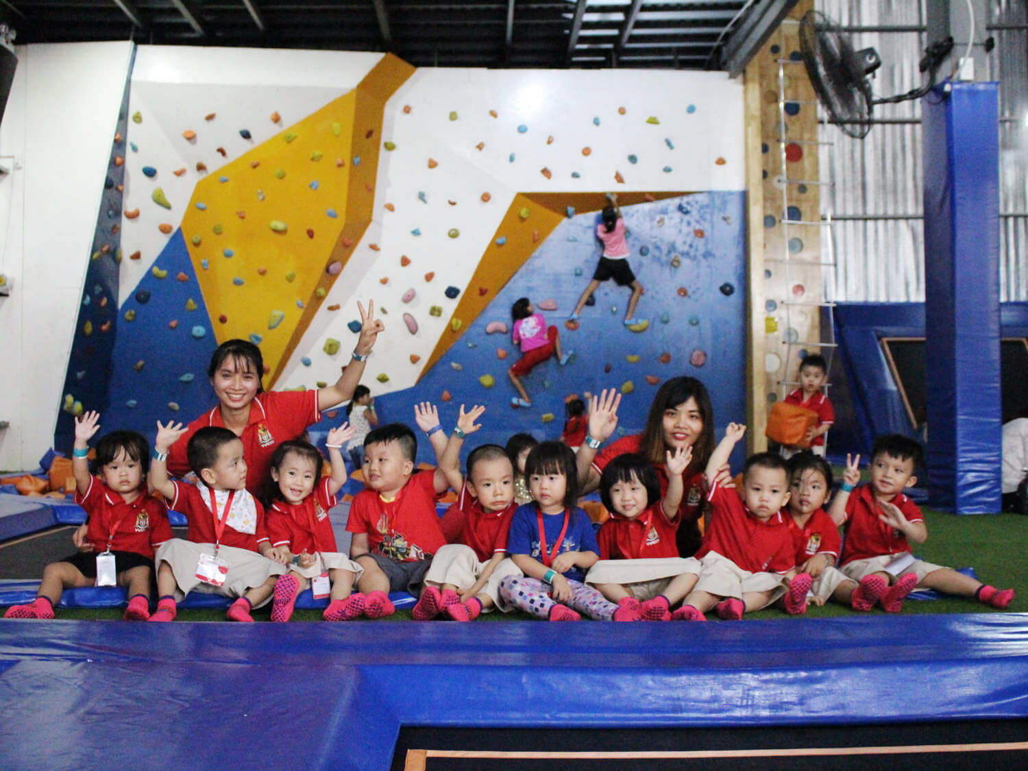 The memorable Outing Trip of Kangaroo Class at The Jump Arena Trampoline Park
