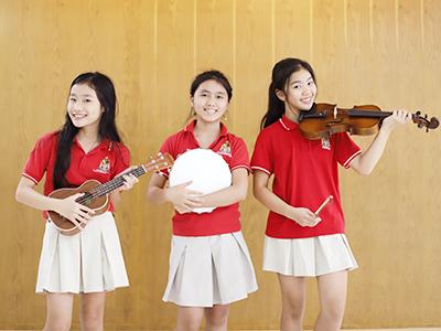 Music – Nourishing the spirit of students