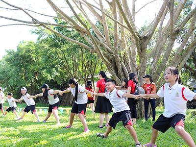 Celebrating the spirit of team work and  creativity of WASSers grade 4-8