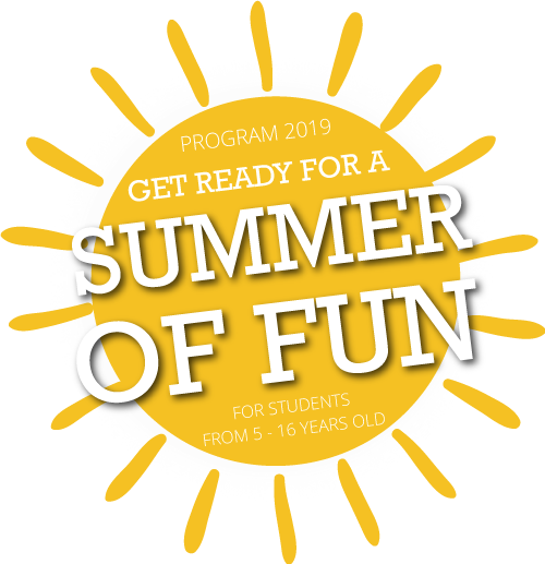 Summer Camp 2019 - Ready for an exciting summer