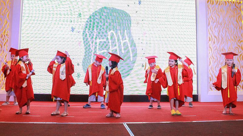 The graduation ceremony of WASS Kindergarten
