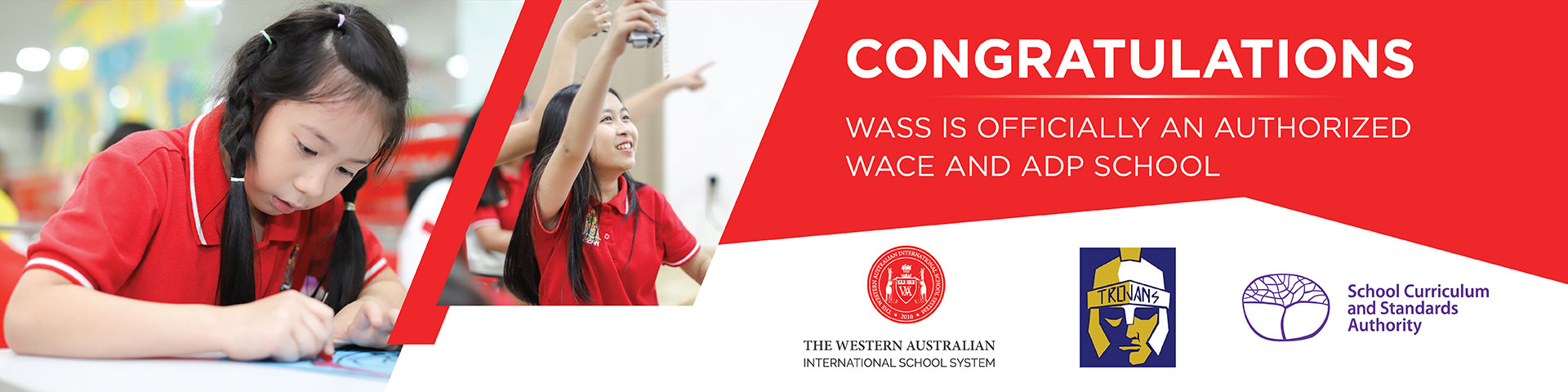 WASS is official an authorized WACE and ADP School