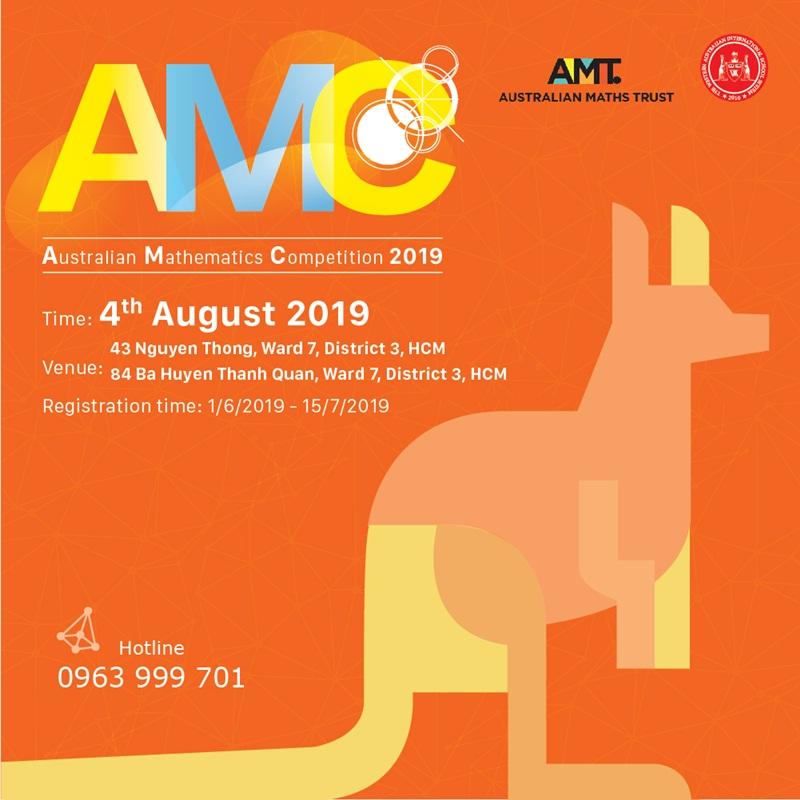 Tây Úc vinh dự là đại diện đăng cai tại Việt Nam cuộc thi Toán học Úc 2019 (AMC 2019)
