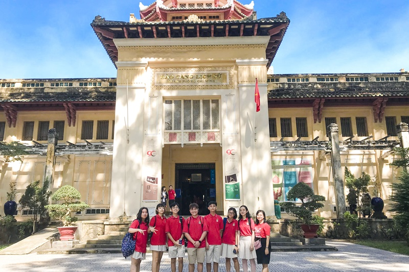 Going back in time to the origin through a trip to Museum of Vietnamese History